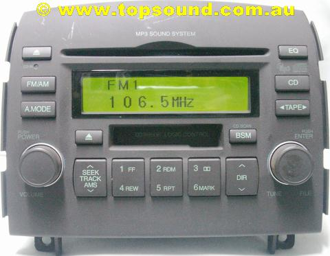 prius cd player jammed